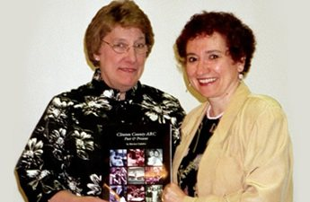 ARC Executive Director Theresa Garrow and Marian Calabro