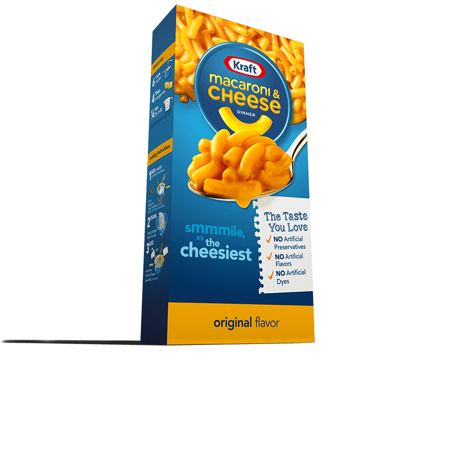 March 22 Kraft Mac&Cheese box