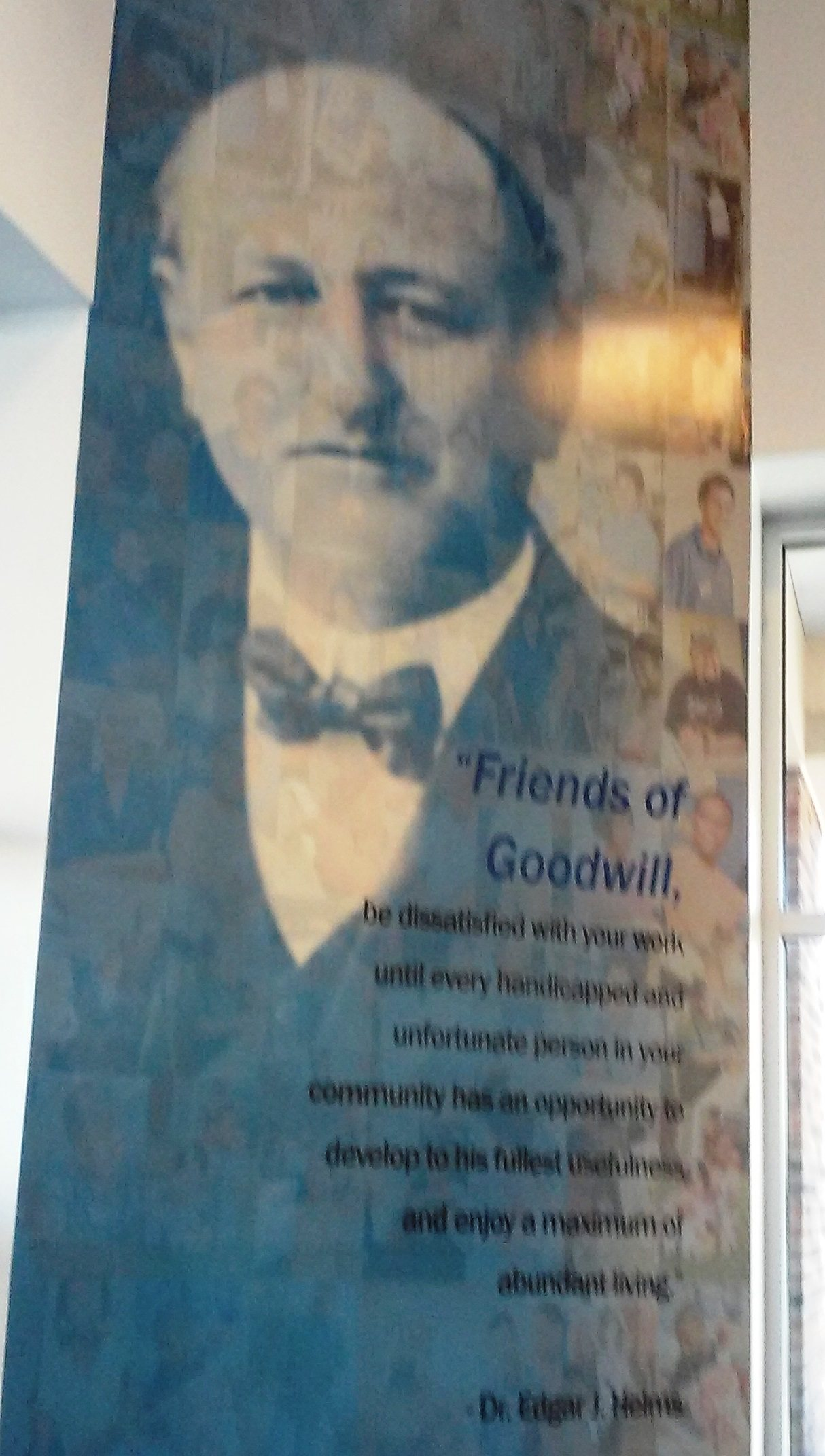 Goodwill Industries founder Edgar Helms