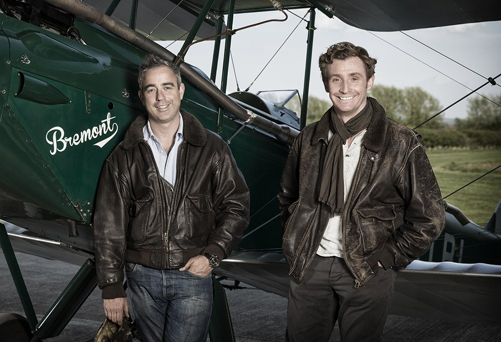 Nick and Giles English, Bremont company founders